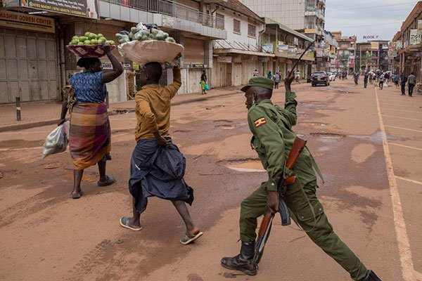 Uganda Poses 7PM Curfew for 14 days.