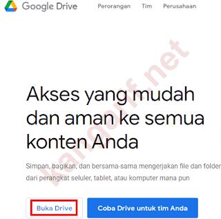 klik buka drive