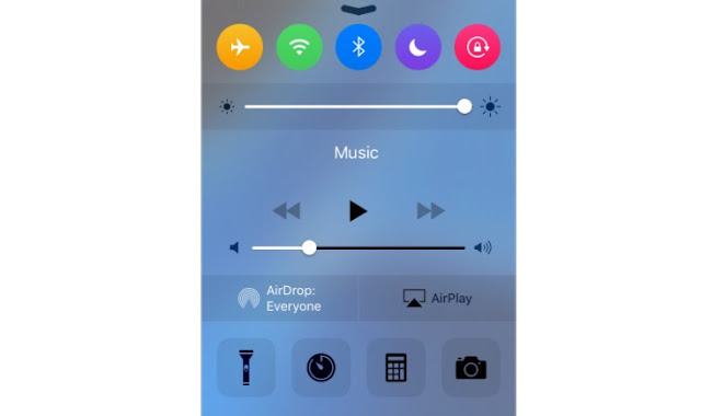 Cream is a fantastic jailbroken cydia tweak by @cpdigdarkroom which lets you color the ControlCenter toggles exactly looks like the Apple Watch buttons