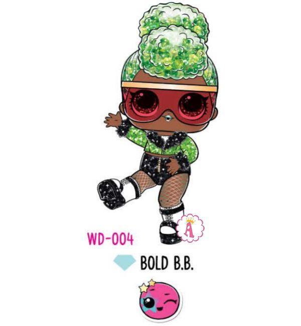 Bold B.B. WD-004 коллекция Winter Disco шары Glitter Globe