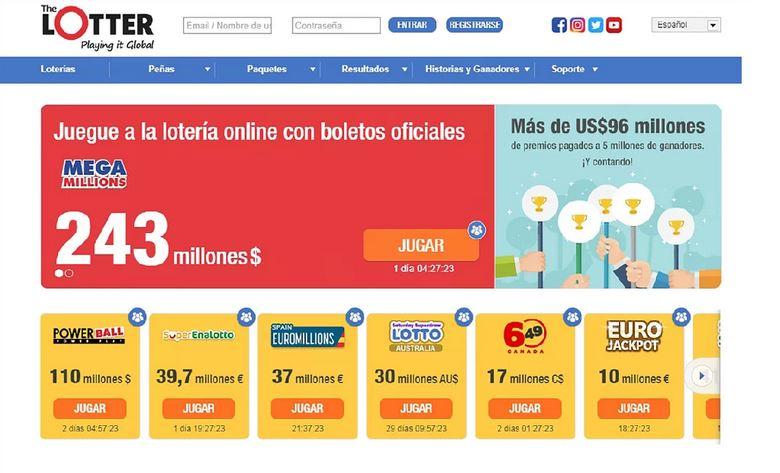 Guía para jugar desde Chile la lotería gringa que reparte US$243 millones