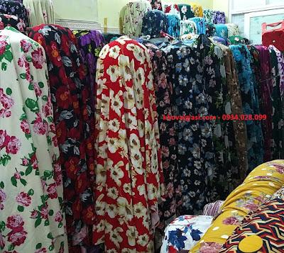 Vải tồn kho, vải Stock Misa Bông giãn 4 chiều may váy, đầm body