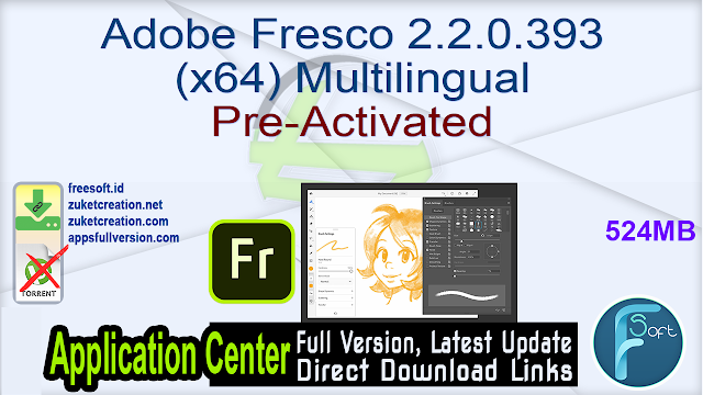 Adobe Fresco 2.2.0.393 (x64) Multilingual Pre-Activated