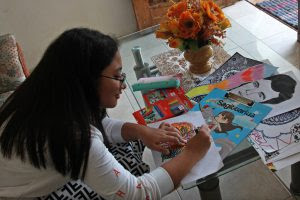 Kreativitas Siswi Kota Kediri Selama Di Rumah Aja Di Tengah Corona