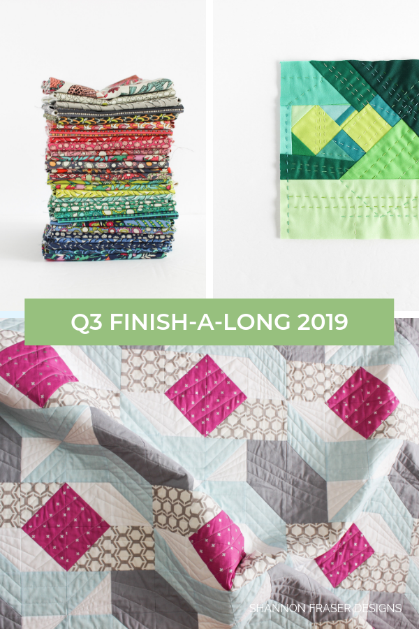Q3 Finish-a-Long 2019 Proposed Projects | Shannon Fraser Designs #finishalong