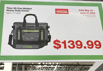 Deal for the Titan 52-can Welded Heavy Duty Cooler at Costco