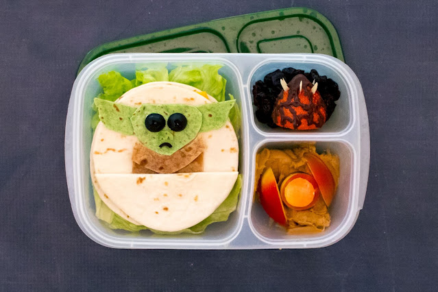 How to Make a Baby Yoda Sandwich for Star Wars Day!