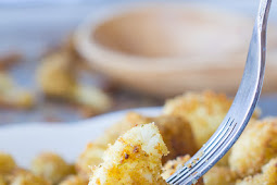 ★★★★★ | PARMESAN ROASTED CAULIFLOWER