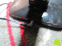 Kabel: CRECO 7W LED Tischlampe 5 Helligkeitsstufen 3 Modi dimmbar 270° drehbar Schreibtischlampe Schwarz [Energieklasse A+]