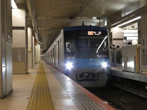 【江ノ島線ダイヤ乱れで打ち切り!】小田急電鉄 快速急行 町田行き3 4000形