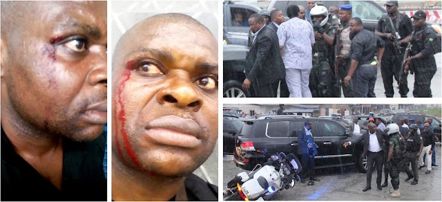 Political War: Gov. Wike , Ameachi in Street  battle at Port Harcourt - (Pictures)