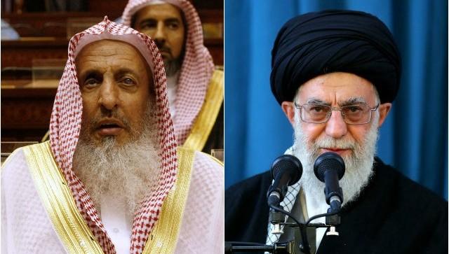 saudi-arbia-grand-mufti-Abdulaziz-Al-Sheikh-iran-ayatollah-ali-khamenei