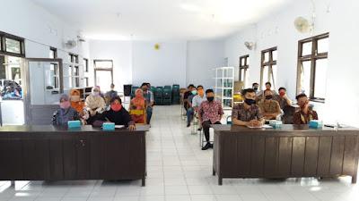Panwaslu Kecamatan Pituruh, Rapat Koordinasi Tentang Persiapan Verifikasi Faktual