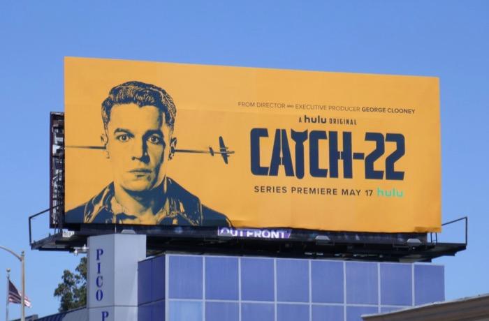 Catch-22 series premiere billboard