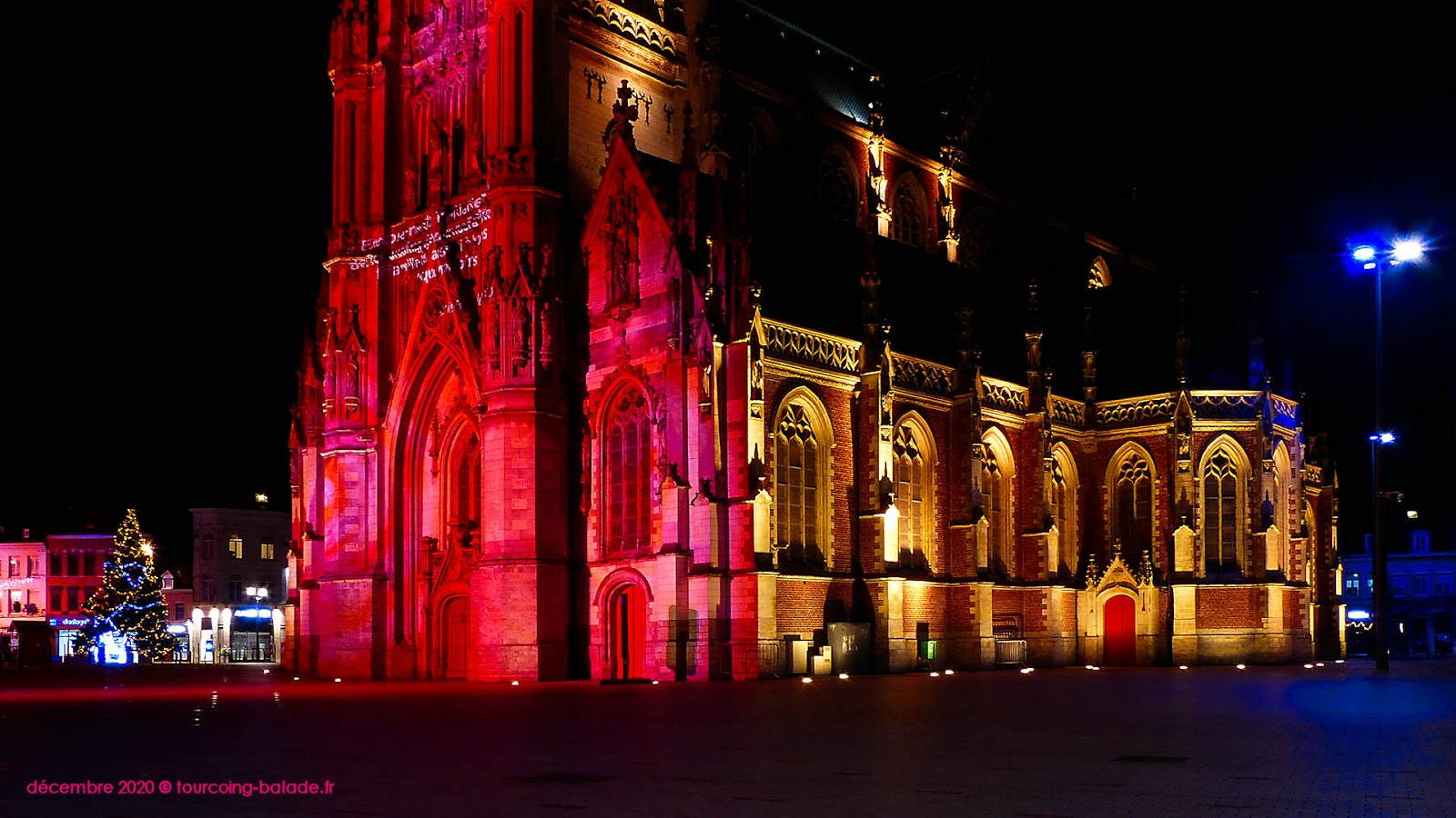 Tourcoing Nuit 2020 - Église Saint-Christophe