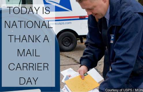 National Thank a Mail Carrier Day Wishes For Facebook