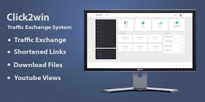 Click2win V2.0 Traffic Exchange System