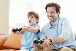 Jugar-papa-hijo-estres