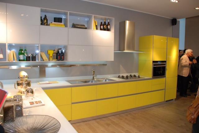 Cozinha Amarela branca
