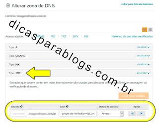 Como Alterar Zona DNS no UolHost