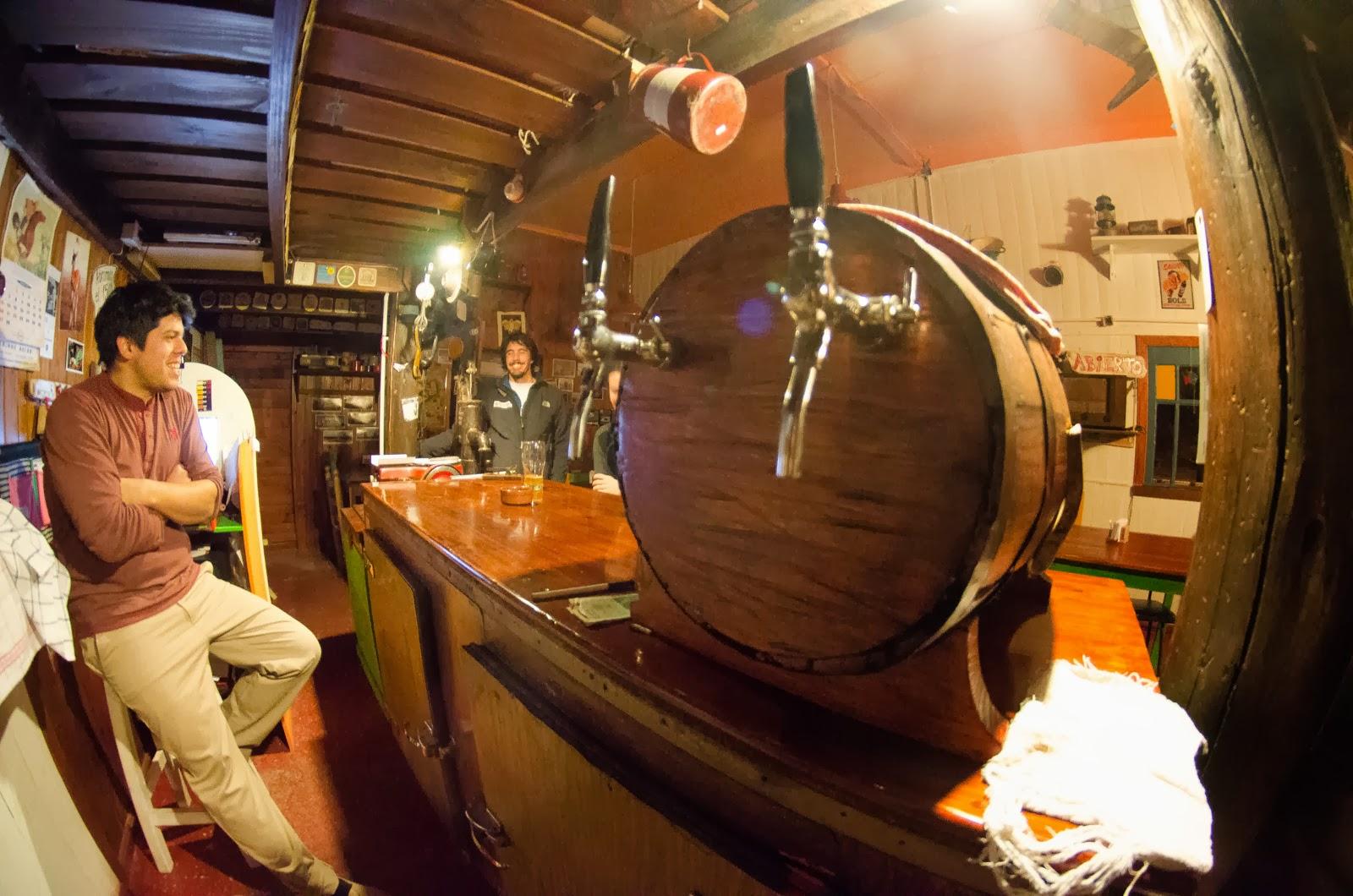 Las choperas listas para servir unas cervezas tiradas