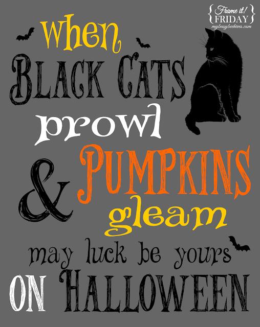 Halloween, black cats, pumpkins