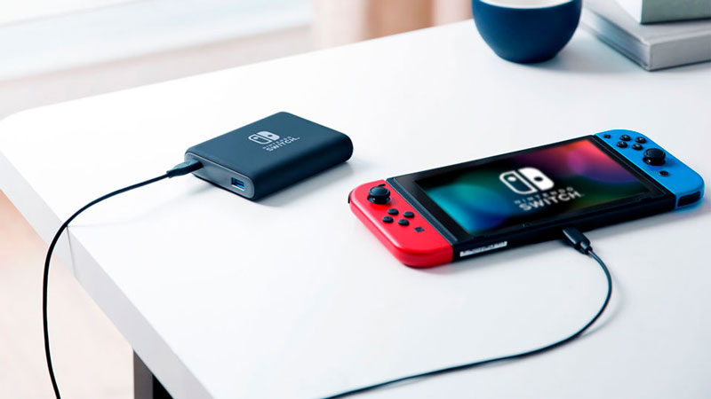 Nintendo Switch y Anker PowerCore