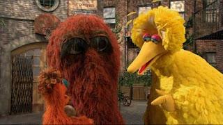 Big Bird, Snuffy, Monsters, Sesame Street Episode 4413 Big Bird's Nest Sale season 44