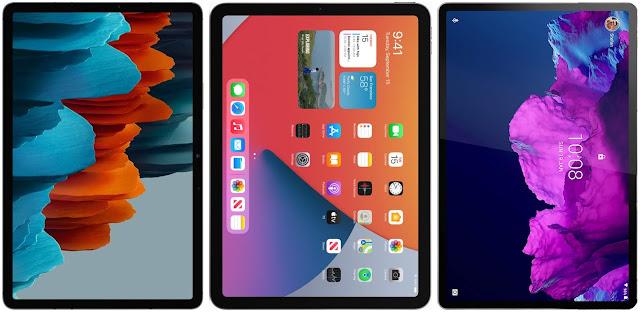 Samsung Galaxy Tab S7 vs Apple iPad Air (2020) vs Lenovo Tab P11 Pro