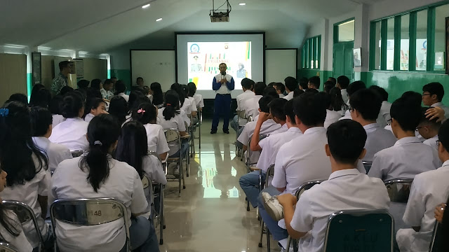 Astra Motor Kampanyekan #Cari_Aman di SMA Bina Mulia Pontianak