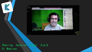 Sharing Session Kompi Ajaib Di Webinar