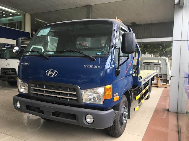 Xe HD120sl Hyundai cứu hộ sàn trượt