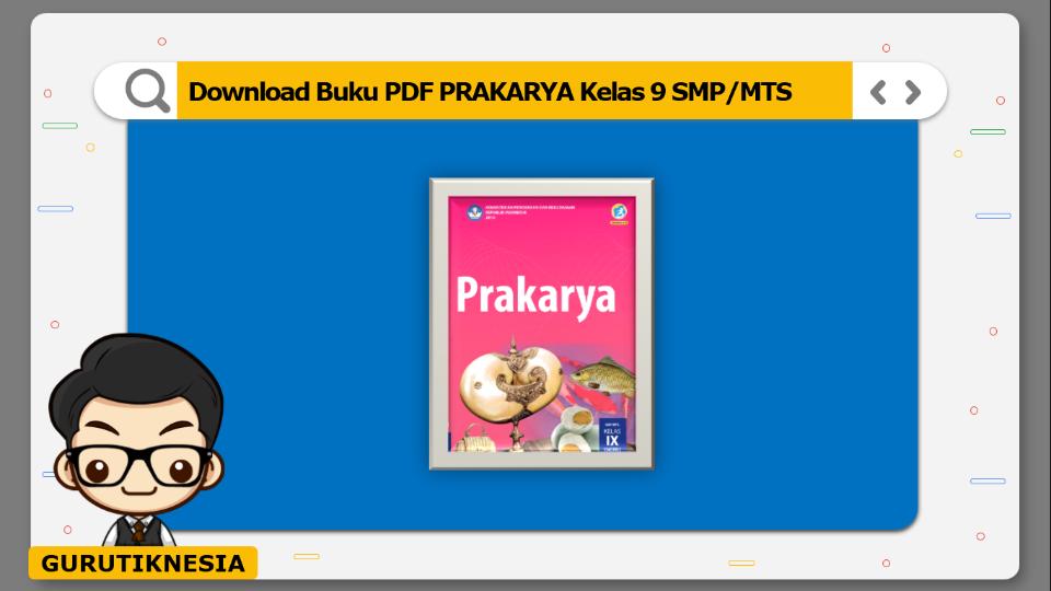 download  buku pdf prakarya kelas 9 smp/mts