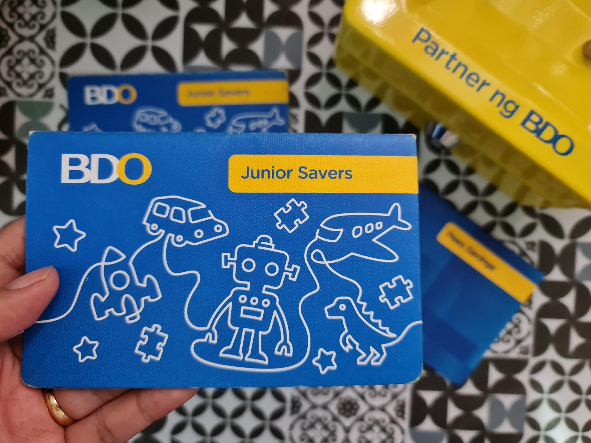 BDO Junior Savers passbook