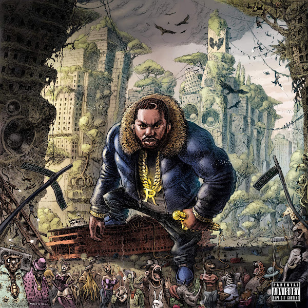 Raekwon - My Corner (feat. Lil Wayne) - Single Cover