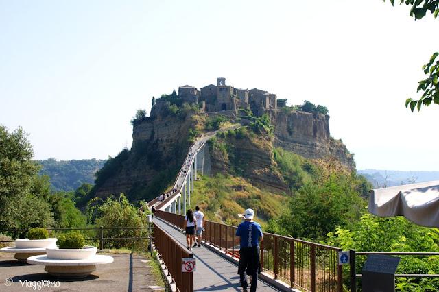 Il Ponte di accesso al borgo di Civita di Bagnoregio