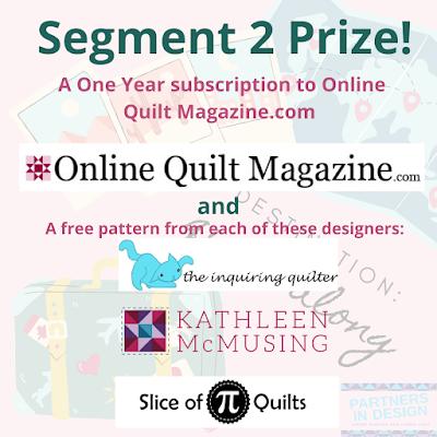 Destination: Quilt Along prizes