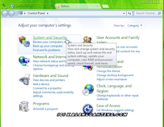Cara Setting Laptop/PC Agar Tidak Mati Saat Didiamkan