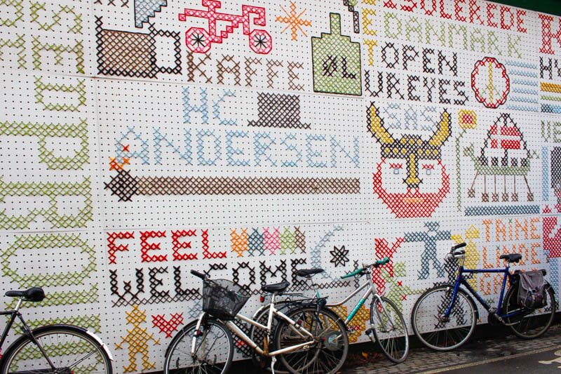 Street art Copenhagen, Graffiti, Vestebro, København, Denmark