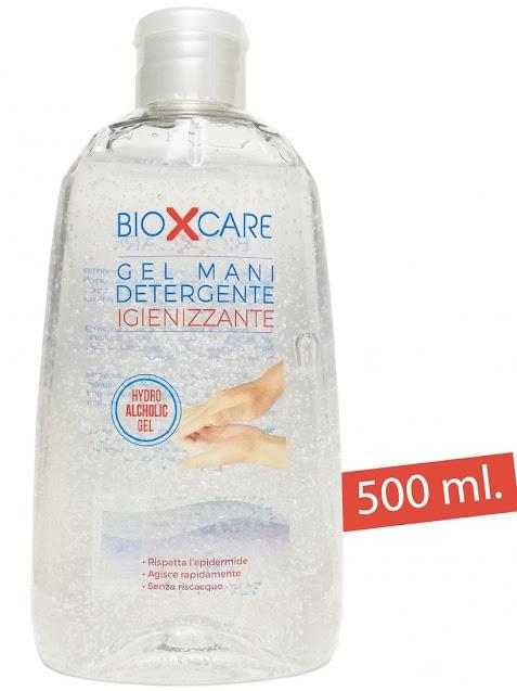 Gel igenizante mani 65% alcool 500ml, igienizzante