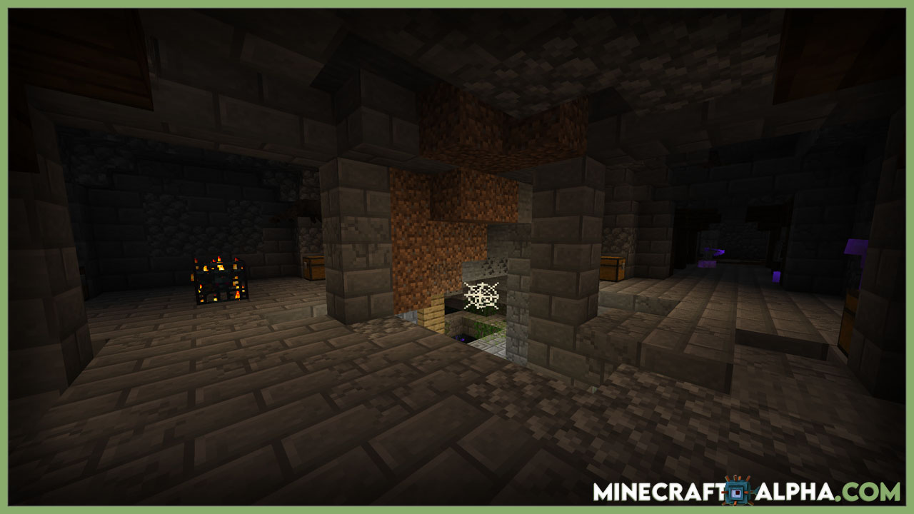 Dungeon Crawl Mod 1.17.1/1.16.5  (Large Underground Roguelike Dungeon Structures)