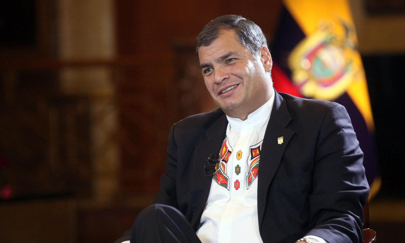 """Correa: """"Hemos pasado a un nuevo plan Cóndor sin límites ni escrúpulos"""""""