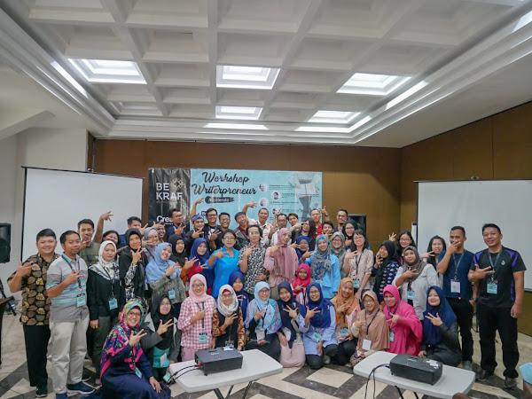 Bekraf Workshop Writerpreneur Bogor 2019: Menulis, Perjalanan, dan Perenungan Makna