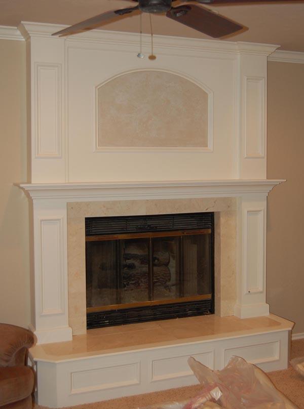 Brick Laminate Picture: Brick Fireplace Remodel