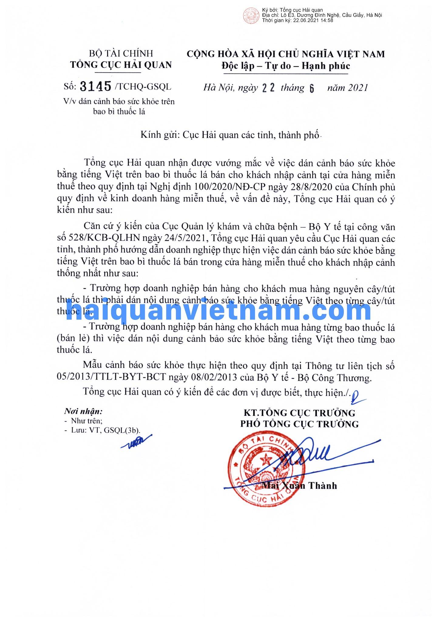 [Image: 210622_3145_TCHQ-GSQL_haiquanvietnam_01.jpg]