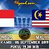 Prediksi Skor : Indonesia vs Malaysia 05 September
