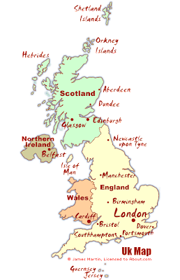 UK-United-Kingdom Map