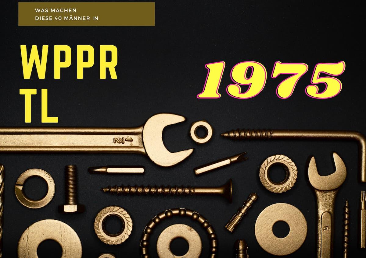 Was machen diese 40 Männer in Wuppertal?   Die Sendung mit der Maus war 1975 in Wuppertal unterwegs und erklärte es