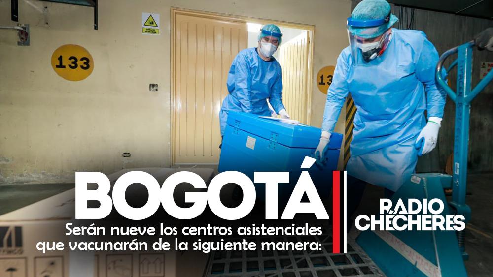 En minutos, iniciará la vacunación contra la COVID-19 en Bogotá