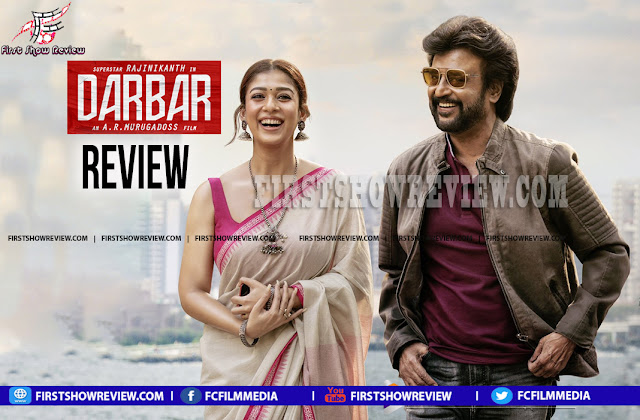 Darbar : A commercial mix of action and drama with failed second half